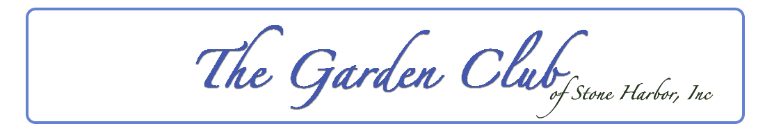 The Garden Club of Stone Harbor Logo